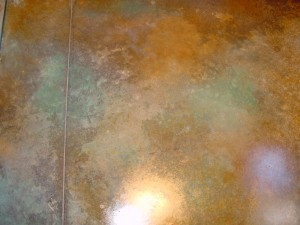 concrete that was polished